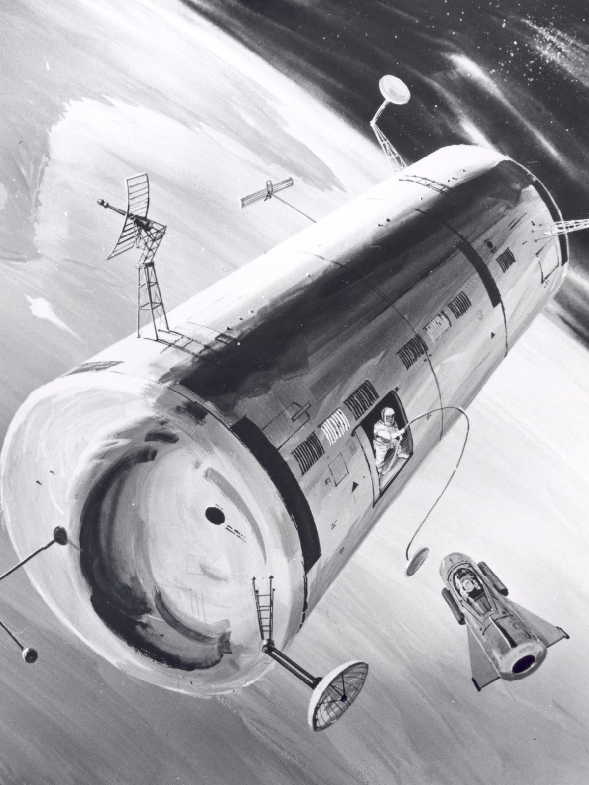MOL was the USAF's ambitious plan for a space station