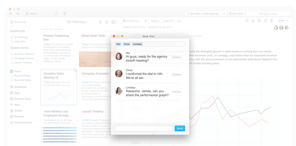 Evernote backing out of Work Chat, but committed to 'Deep Work'