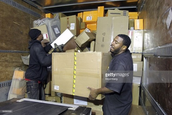 UPS workers