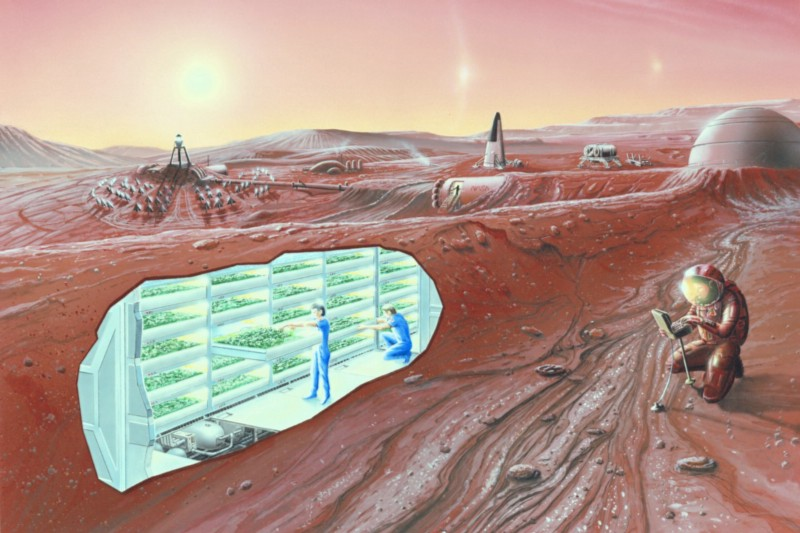 Laura Eisenhower claims she was invited to join a colony on Mars