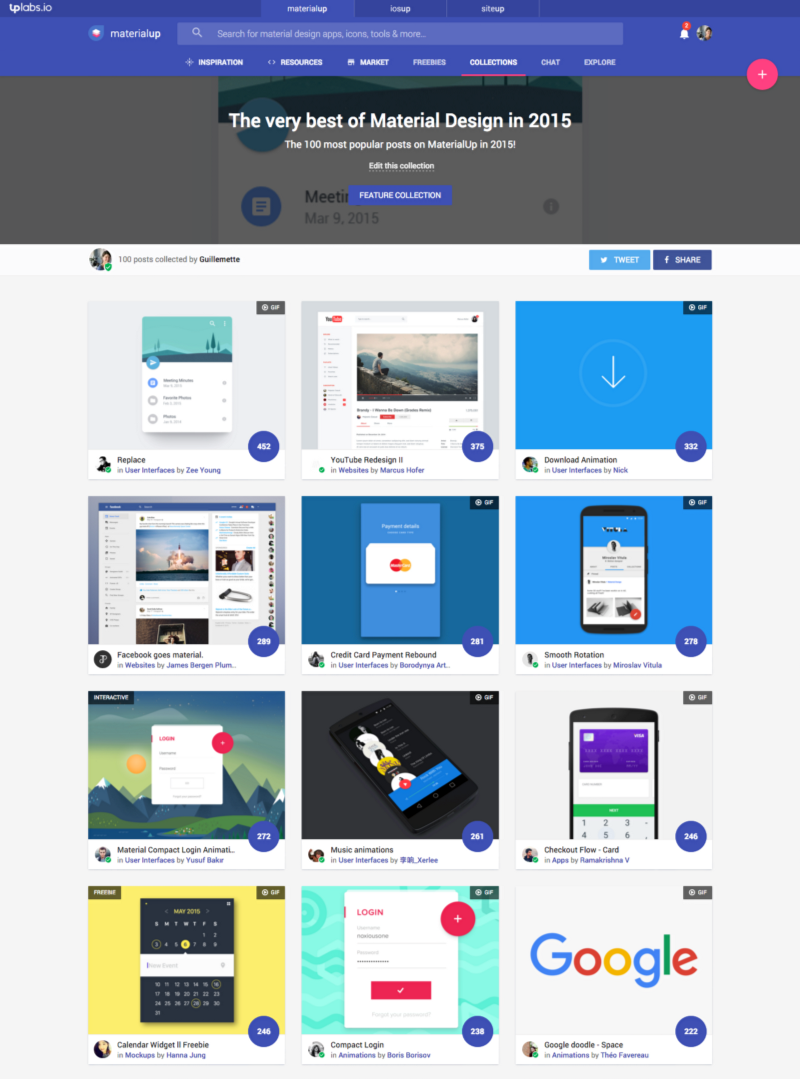 The (very) Best of Material Design in 2015 – Design, Code and Prototyping
