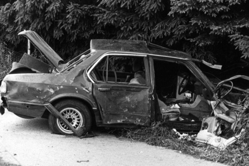 Karl-Heinz Beckurts was killed by a car bomb in 1986