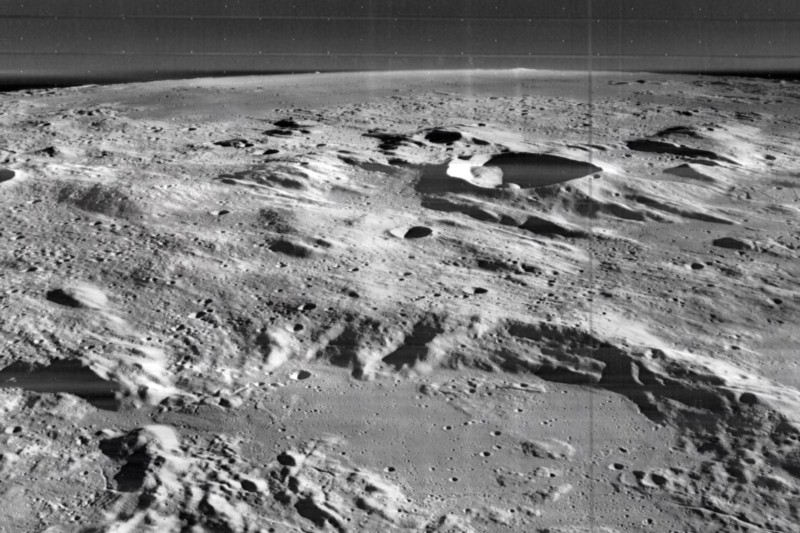 Some witnesses recall seeing artificial structures on the Moon