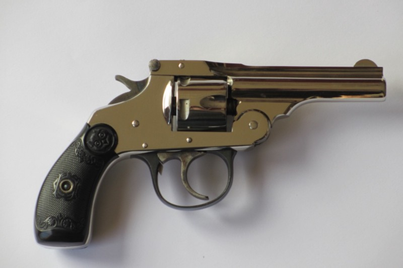 There was evidence for more shots than Sirhan's Ivor Johnson revolver could hold (credit: Alex Reinhart/wiki)